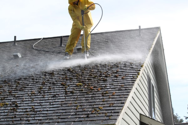 Tips For Pressure Washing Your Roof